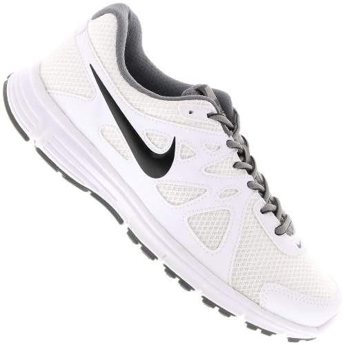 Tenis Nike Revolution 2 MSL - Branco+preto TAM 42