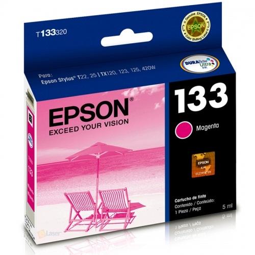 Cartucho EPSON T133320 Magenta T22/T25/TX320/TX120/TX123/TX125