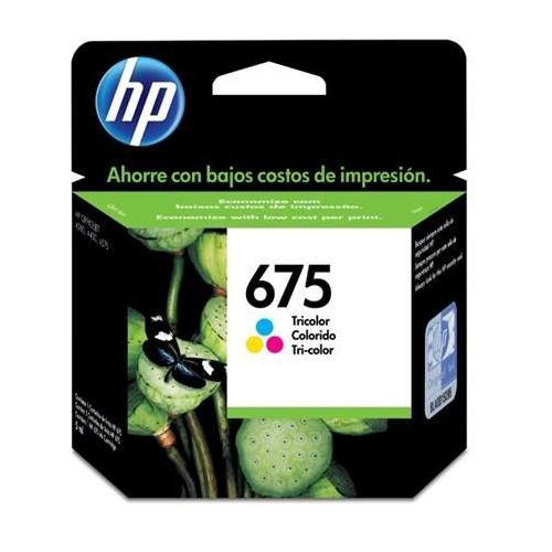 Cartucho HP 675 CN691AL Color