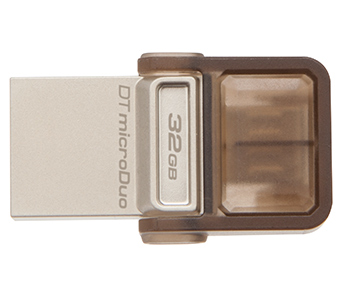 PEN Drive Kingston 32GB Data Traveler Microduo USB 2.0 (DTDUO/32GB T)
