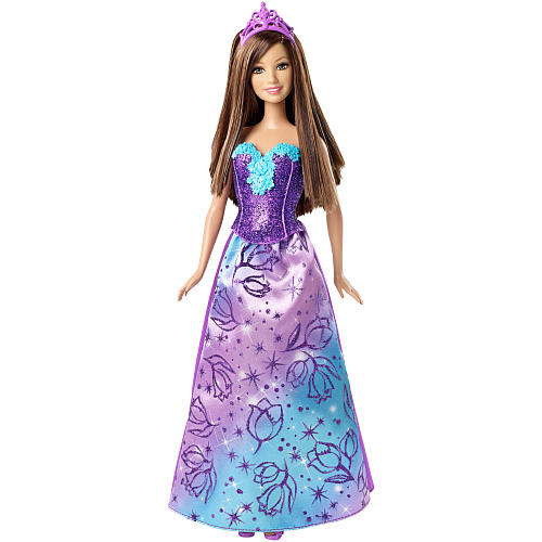 Boneca Barbie Mattel Mix & Match Princesa - Teresa Roxo Cff27