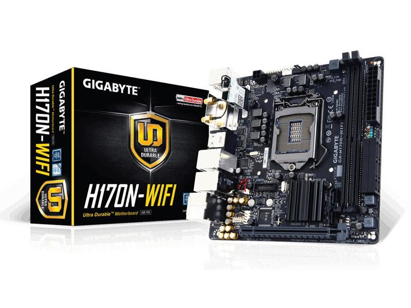 Placa Mãe Gigabyte Ga-h170n-wifi