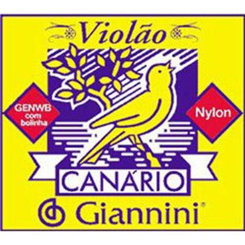 Encordoamento Série Canário 3ª Sol Nylon Genwb3 Giannini