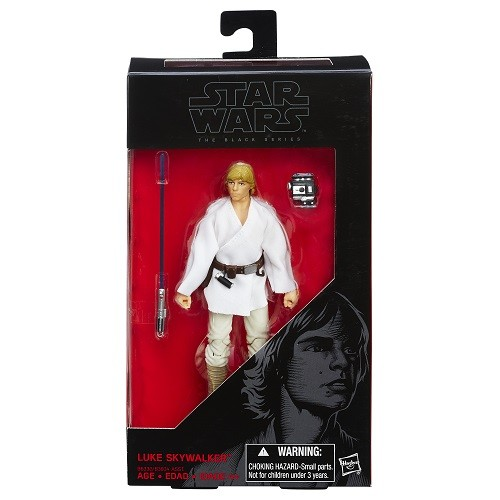 Boneco Star Wars Black Series 6 Luke Skywalker Hasbro