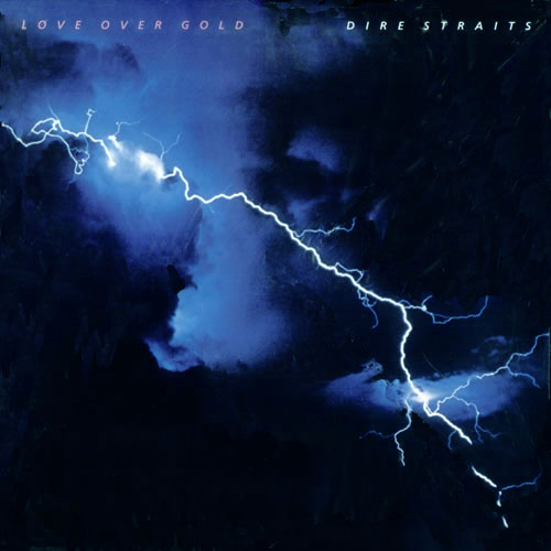 LP Dire Straits Love Over Gold 180g