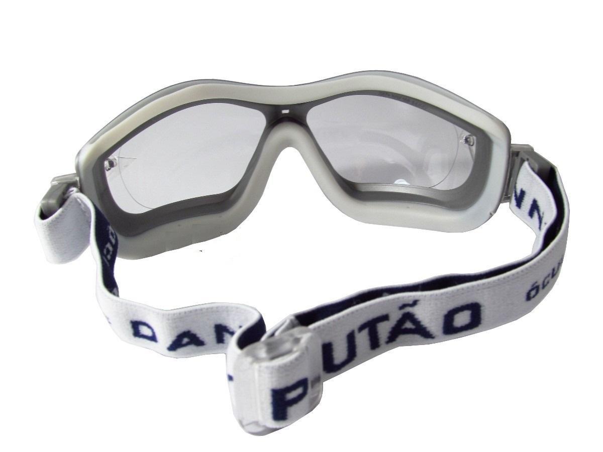 Óculos Plutão Incolor Amplavisão Com Ca  - Casafaz