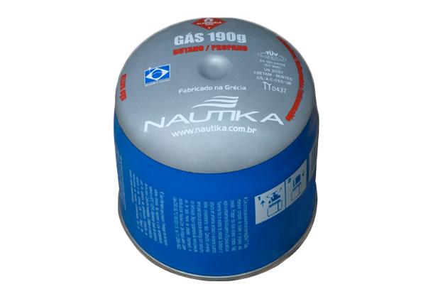 Cartucho De Gás Nautika 190g