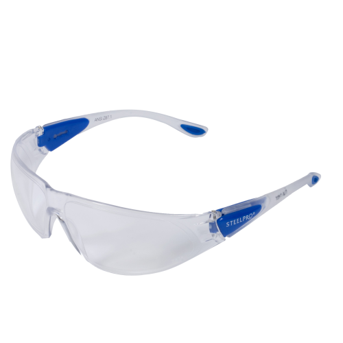 Óculos Steelpro Runner Incolor Com Ca  - Casafaz