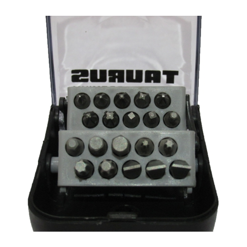 Conjunto De Bits Taurus 20 Peças  - Casafaz
