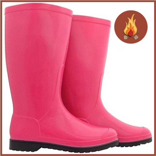 Galocha Calfor Pink S/ Preta M17