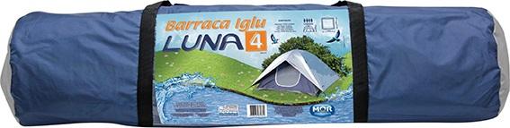 Barraca Iglu Luna 4 Pessoas 2,10 X 2,10 X 1,30 Mts Mor  - Casafaz