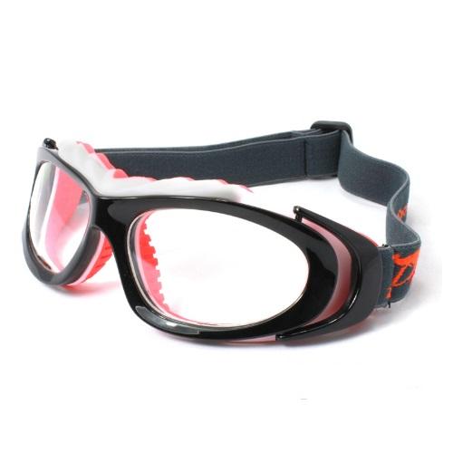 Óculos Lucky Para Pratica De Futebol Basquete Laranja + Case
