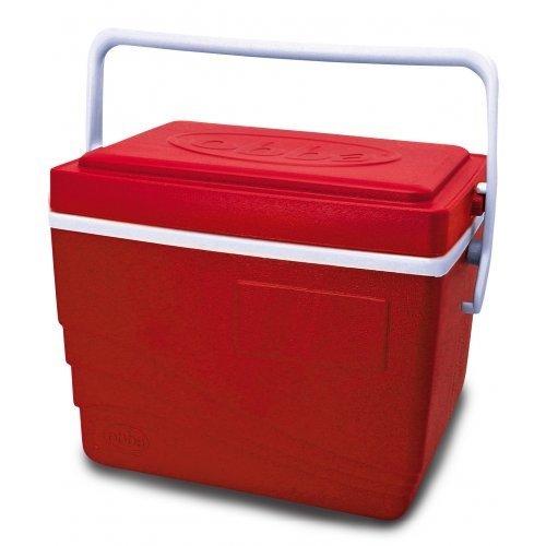 Caixa Térmica Obba Ice 15 Litros Vermelha  - Casafaz