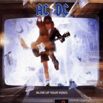 LP AC/DC Blow Up Your Video 180g LP