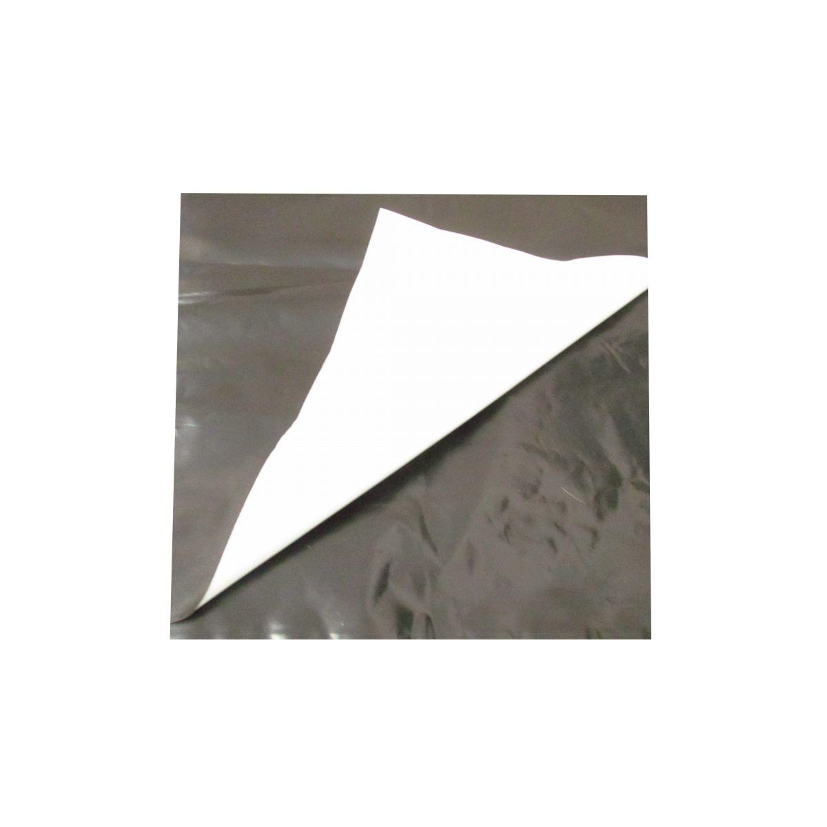 Lona Plastica Preta e Branca 10m x 4m 150 Micras  - Casafaz
