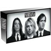Cd Nirvana 3 Cds Box Set + 1 Dvd + Livro