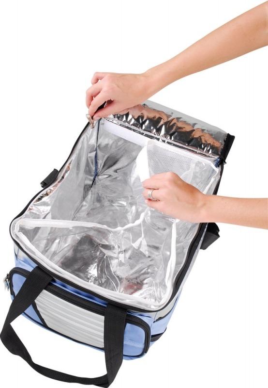 Bolsa Térmica Ice Cooler 36 Litros Mor Até 40 Latas Camping Viagem  - Casafaz