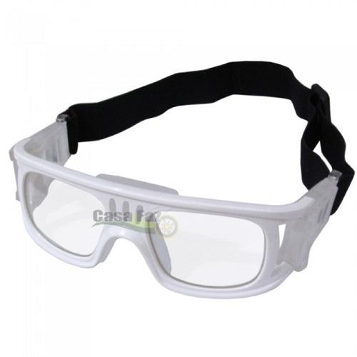 Óculos Eyki De Futebol Basquete Branco Quad + Case  - Casafaz