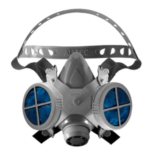 Mascara Respirador Alltec 2 Filtros Poeiras E Névoas