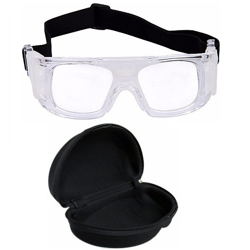 Óculos Eyki De Futebol Basquete Incolor Quad + Case