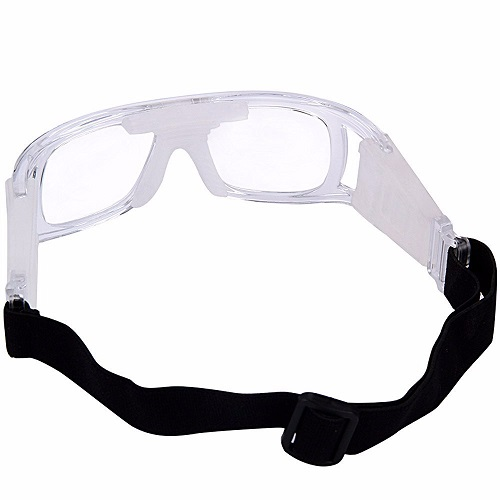 Óculos Eyki De Futebol Basquete Incolor Quad + Case   - Casafaz