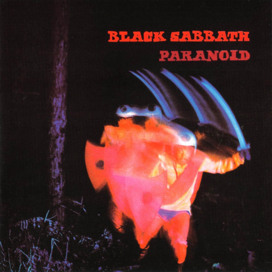 LP Black Sabbath Paranoid 180g