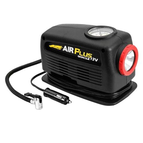 Compressor Lanterna 12v Air Plus Schulz Inflador Botes  - Casafaz