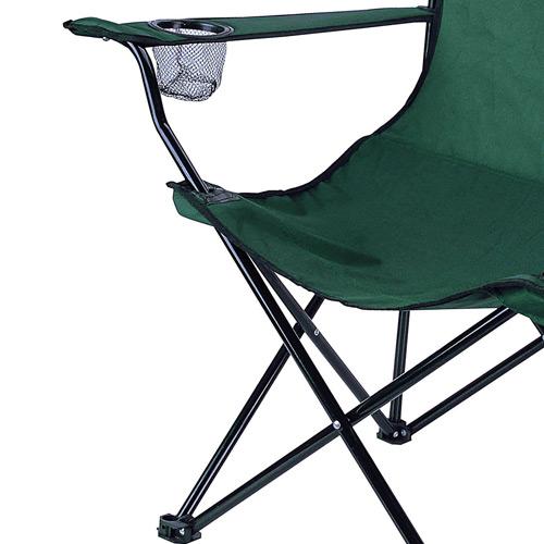 Cadeira Dobrável Alvorada Nautika Verde  - Casafaz