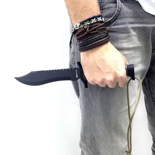 Faca Scorpion Nautika Tatica Sobrevivência, Caça E Pesca  - Casafaz