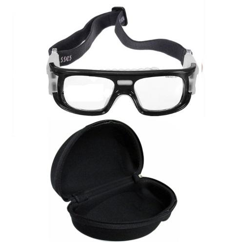 Óculos Eyki De Futebol Basquete Preto Quad + Case
