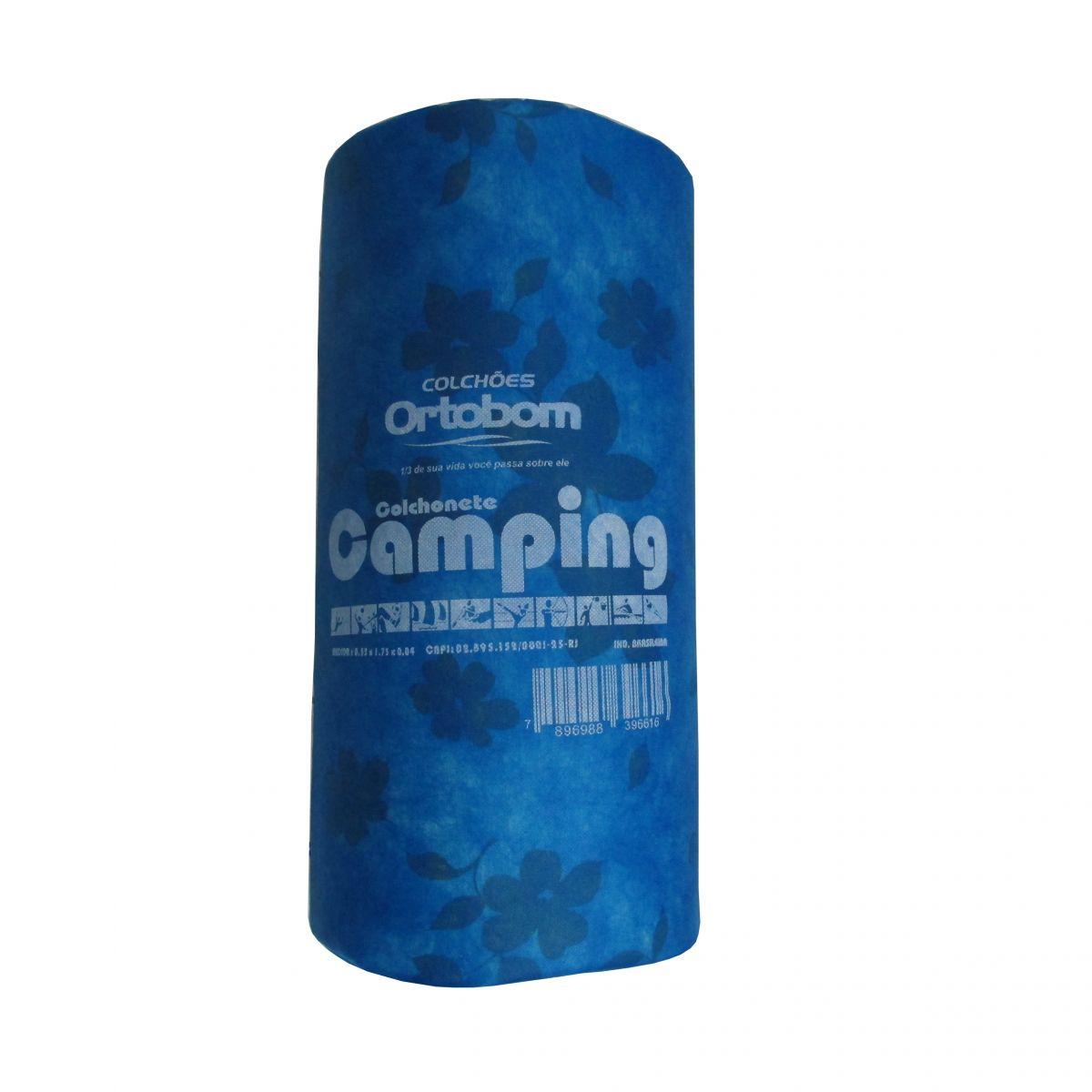 Colchonete Acampamento Barraca Ortobom D20 Certificado  - Casafaz