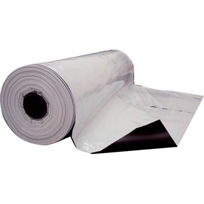 Lona Plastica Preta e Branca 10m x 4m 200 Micras  - Casafaz
