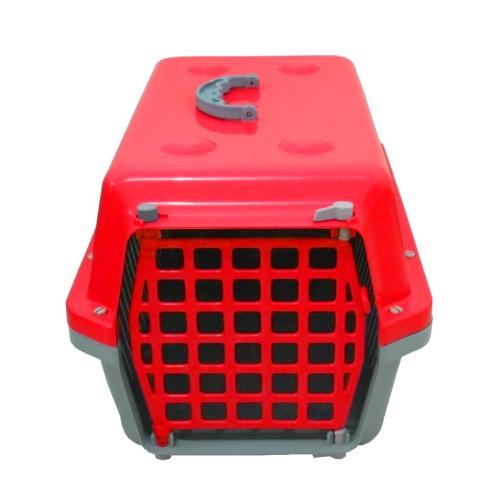 Caixa De Transporte Cães E Gatos Nº 3 Alvorada Vermelha
