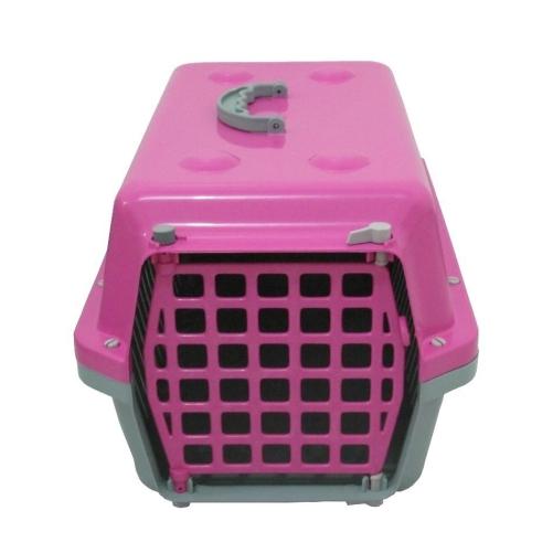Caixa De Transporte Cães E Gatos Nº 3 Alvorada Rosa  - Casafaz