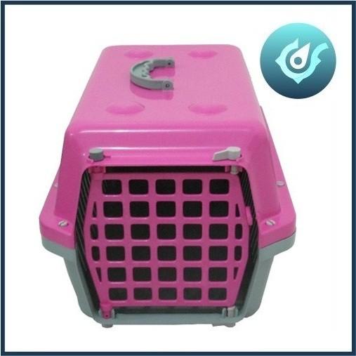 Caixa De Transporte Cães E Gatos Nº 3 Alvorada Rosa