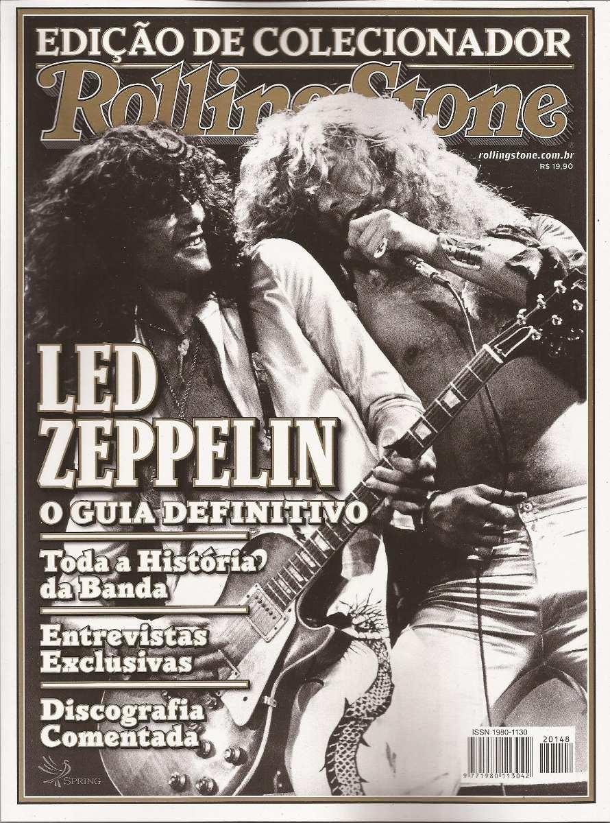 Revista Rolling Stone Led Zeppelin Edição Especial De Colecionador