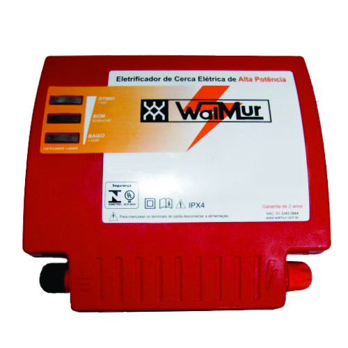 Eletrificador Rural Cerca Eletrica Profissional S4500 Biv