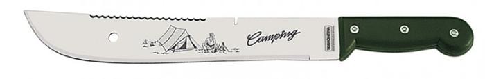 Facão Para Camping Inox 12 + Bainha Sola 26619/122 Tramontina  - Casafaz