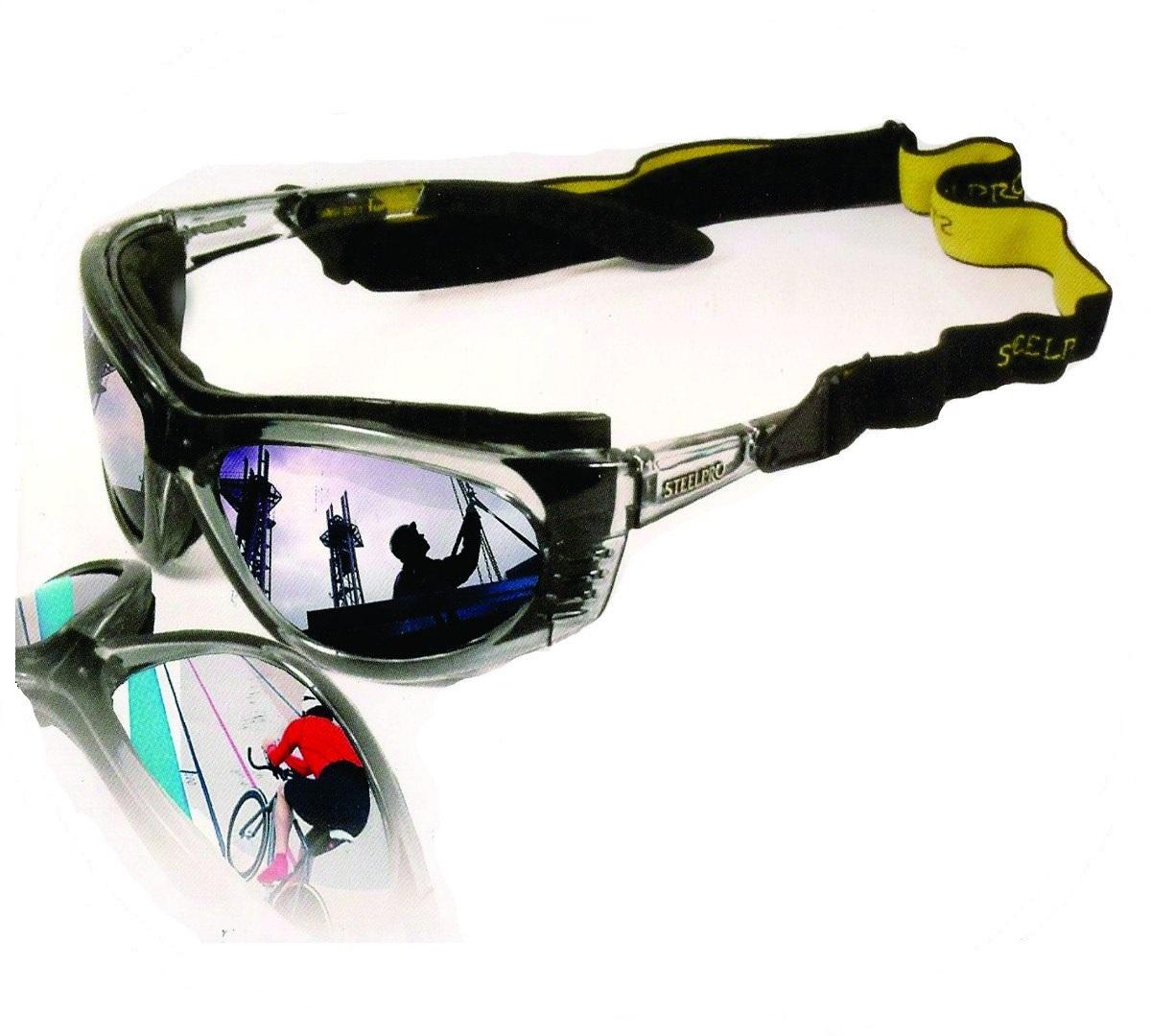 Óculos Steelpro Turbine Lente Incolor Esportes  - Casafaz