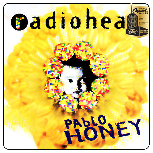 Lp Radiohead Pablo Honey 180g