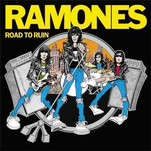 Lp The Ramones Road To Ruin 180g  - Casafaz