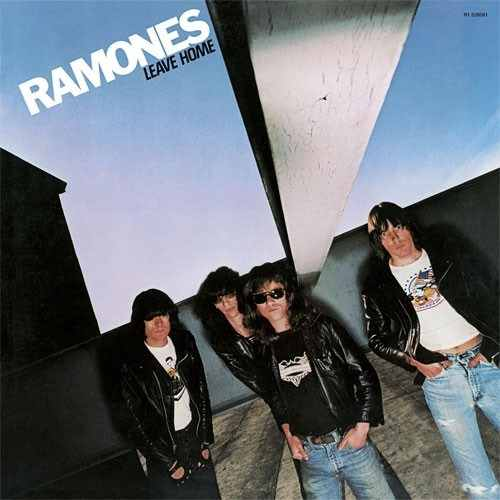 Lp The Ramones Leave Home 180g  - Casafaz