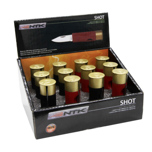 Canivete Shot Nautika Vermelho  - Casafaz