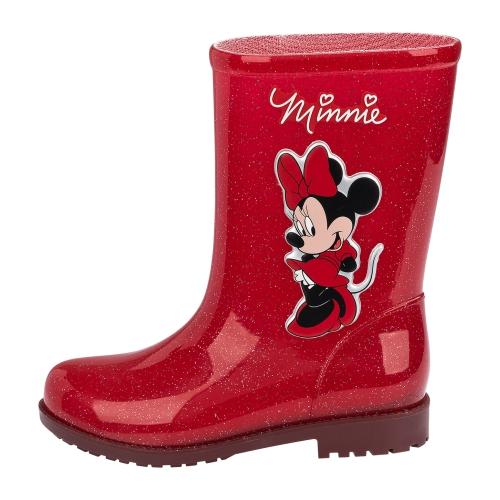 Bota Infantil Minnie Vermelho Glitter 03713 Grendene  - Casafaz