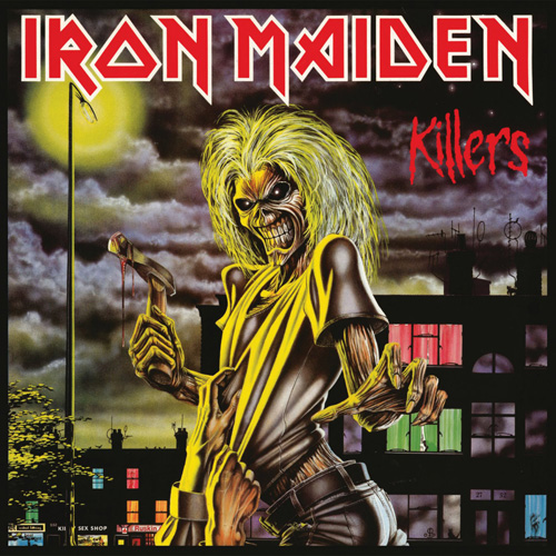 Lp Iron Maiden Killers 180g  - Casafaz