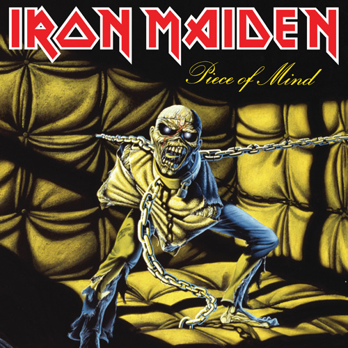 Lp Iron Maiden Piece Of Mind 180g