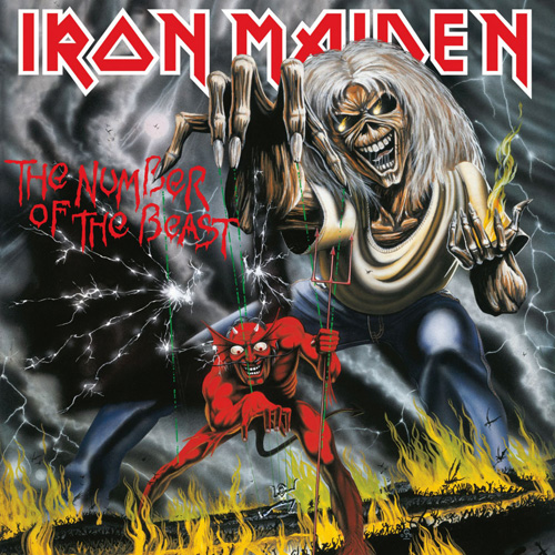 Lp Iron Maiden The Number Of The Beast 180g