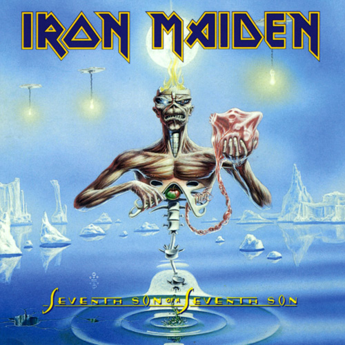 Lp Iron Maiden Seventh Son Of A Seventh Son 180g