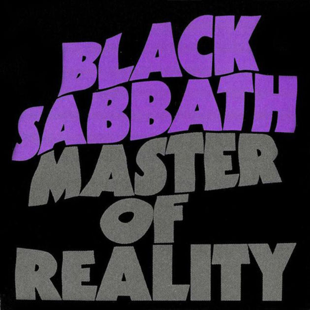 LP Black Sabbath Master Of Reality 180g