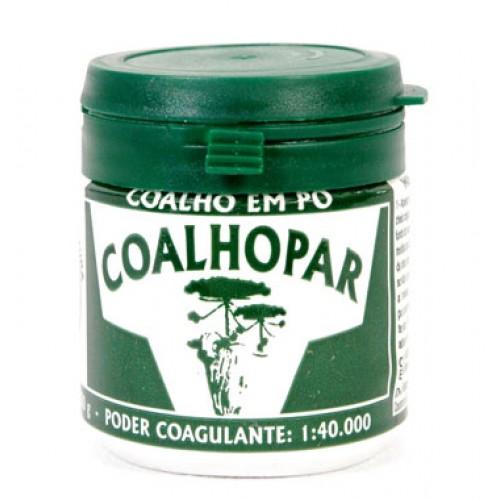 Coalho Coalhopar Em Pó 1:40.000 Para Fabricação De Queijo 50g  - Casafaz